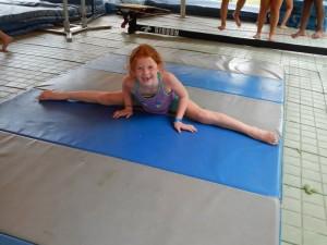 Maddie Lent splits